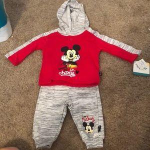 Mickey Mouse sweat set